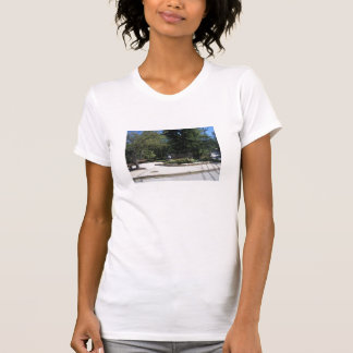 Utomhus- borggårdtanktop tröjor