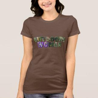 UTOMHUS brytning för KVINNA w/Purple Tröjor