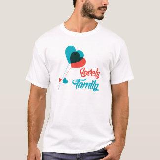 Utomhus- dräkter för älskvärd familj tee shirts