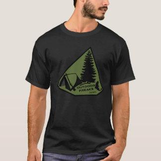 Utomhus- freakKanada T-tröja T-shirt