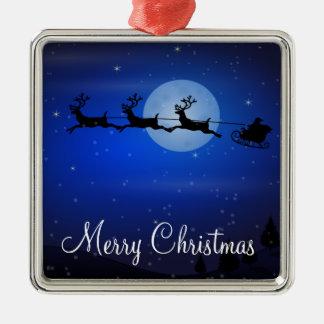 Utomhus- julprydnadar - Santa och ren Juldekoration