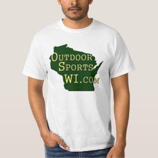 Utomhus- sportWI - logotypT-tröja - vit T-shirts