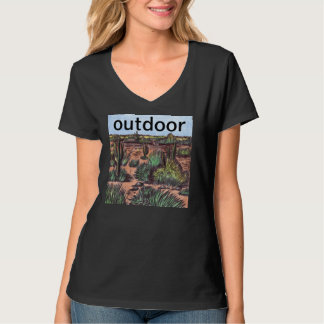 utomhus- t-shirt