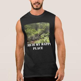 Utomhus typ av dagen sleeveless t-shirt