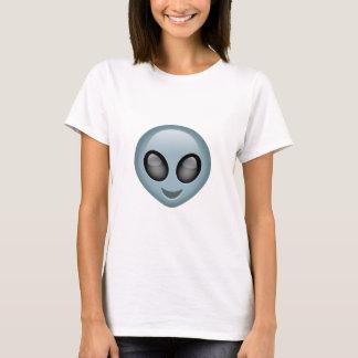 Utomjordiska främmande Emoji T-shirt