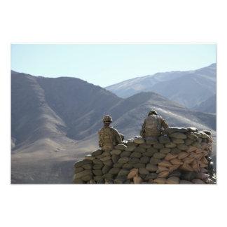 utrustning för soldatspringakommunikationer fotokonst
