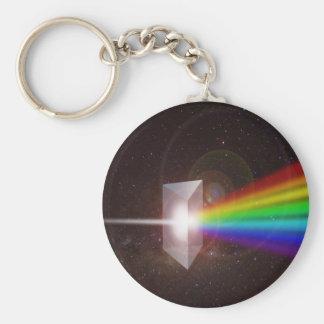 Utrymme Stjärna Galax DE LaRue för prismafärgSpect Rund Nyckelring