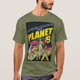 Utrymmechickar från färg för planet 8_full t shirts