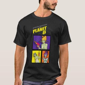 Utrymmechickar från planet 8 w/shirt_3_tile t-shirt