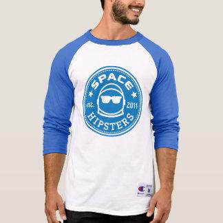 UtrymmeHipsters® manar Jersey för sleeve för Tee Shirt