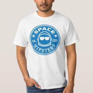 UtrymmeHipsters® manar utslagsplats för logotyp Tee Shirt