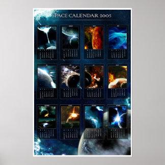 Utrymmekalender 2005 poster