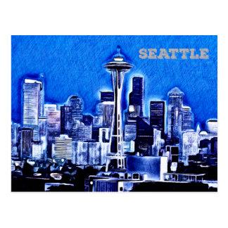 Utrymmenålen - Seattle, Washington Vykort