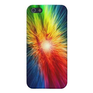 Utrymmeregnbåge iPhone 5 Cover