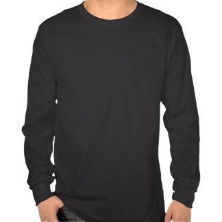 Utrymmetrianglar (långärmadutslagsplatsen) t-shirts