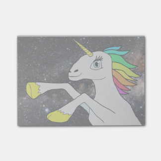 UtrymmeUnicorn! Posta-det noterar… Post-it Block