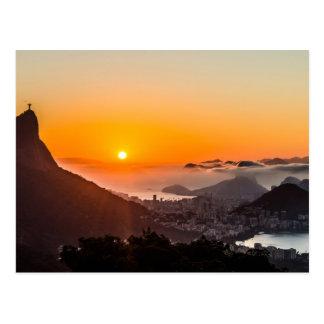 Utsikt Chinesa, Rio de Janeiro, Brasil Vykort
