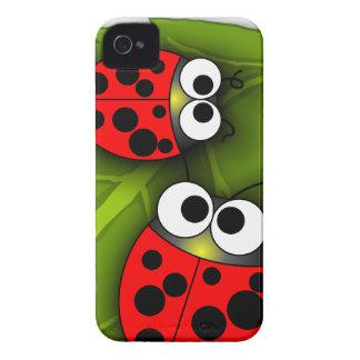 Utskjutande blackberry boldfodral för nyckelpiga Case-Mate iPhone 4 skydd