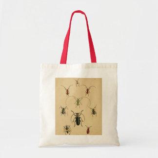 Utskjutande entomologitoto tygkasse
