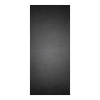Utskrivaven lantlig svart svart tavla reklamkort