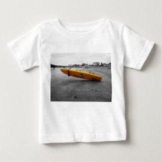 utskrivaven T-tröja för vit livräddare T-shirt