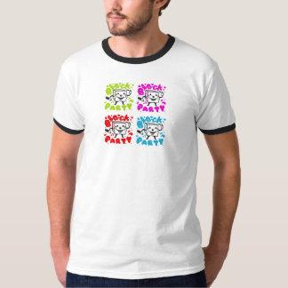 Utslagsplats 2008 för kvarterpartyRinger T Shirt