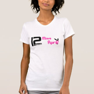 utslagsplats för 12tens Fröcken April T-shirts