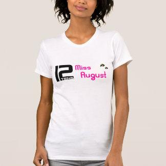 utslagsplats för 12tens Fröcken Augusti T-shirts