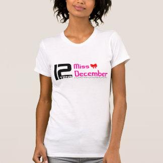 utslagsplats för 12tens Fröcken December T-shirt