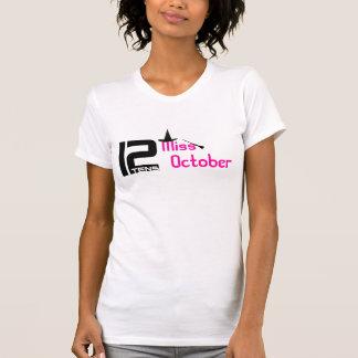 utslagsplats för 12tens Fröcken Oktober T-shirt