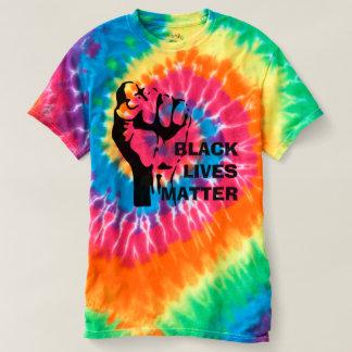 Utslagsplats för färg för svartlivmateria t shirts