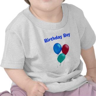 Utslagsplats för födelsedagpojkebaby tröjor