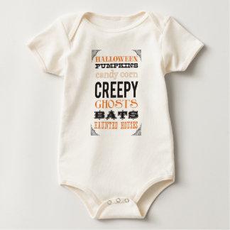 Utslagsplats för Halloween dräktspädbarn Body För Baby