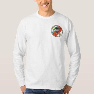 Utslagsplats för långärmad för USCGC-Smilax Tee Shirts