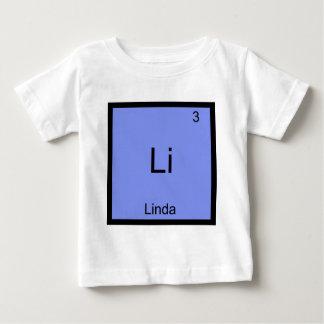 Utslagsplats för namn för symbol för Li - Linda T Shirt