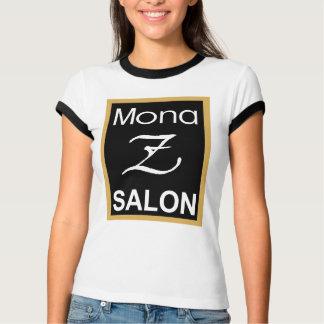 Utslagsplats för Ringer för Mona Z logotypdamer T Shirt