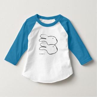 Utslagsplats för sleeve för Raglan för småbarn för T-shirts