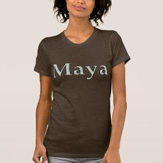 Utslagsplats för tryck för KRW-Maya Retro T-shirts