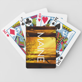 UTSLAGSPLATS Maine Spelkort