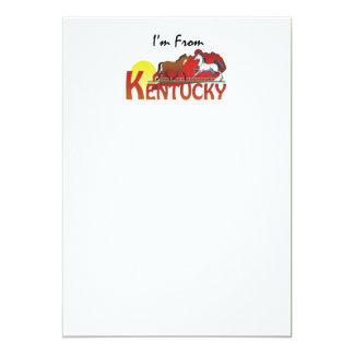 UTSLAGSPLATS mig förmiddag från Kentucky 12,7 X 17,8 Cm Inbjudningskort