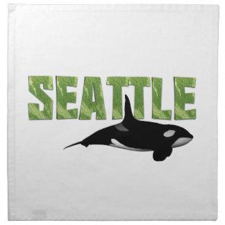 UTSLAGSPLATS Seattle Tygservett