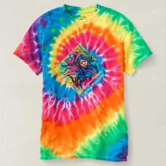 Utslagsplats-skjorta för 70-talti-färg SNURRANDE T-shirts
