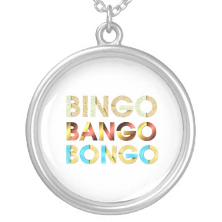 UTSLAGSPLATSBingoBango Bongo Halsband Med Rund Hängsmycke