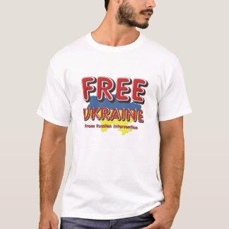 UTSLAGSPLATSEN frigör Ukraina T-shirt