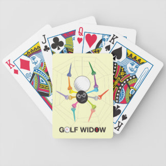 Utslagsplatser för spindel för änka för spelkort