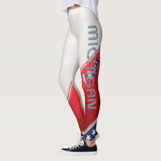 UTSLAGSPLATSMichigan patriot Leggings