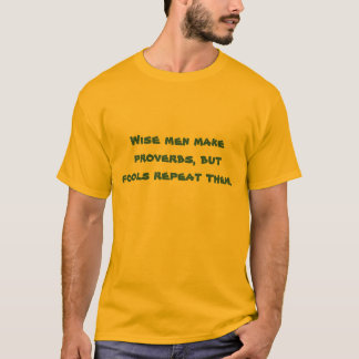 Utslagsplatsskjorta för klokt t shirt
