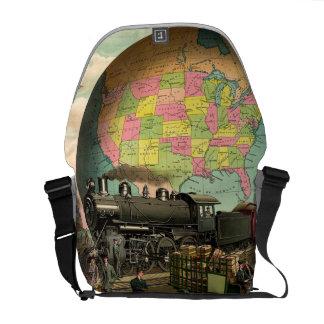 UTSLAGSPLATStransport Kurir Väska