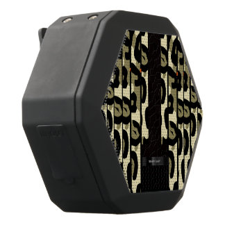 Utsmyckad Cheetah Camo Svart Bluetooth Högtalare