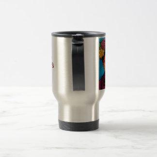 Utsmyckad Frida kaffetravel mug Resemugg